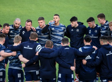 JGP y Byrne liderarán el ataque en el lado reorganizado de Leinster