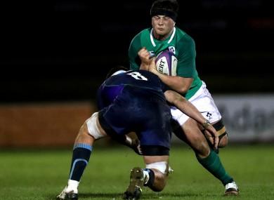 El lado de Irlanda del Sub-20 recibe el nombre de choque con Munster mientras se acumulan hasta las Seis Naciones