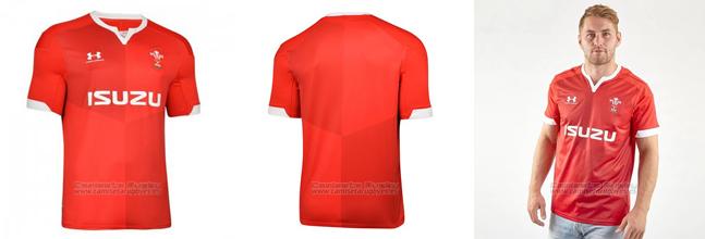 Camiseta Gales Rugby 2019-2020 Local