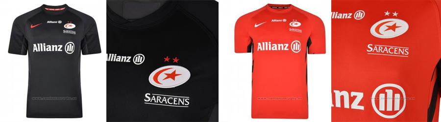camiseta rugby Saracens 2019